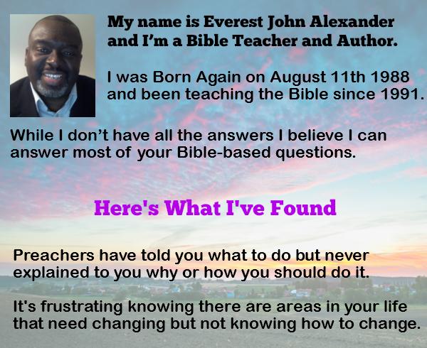 Everest John Alexander Introduces Kingdom Learning Network For Online Bible Study Resources
